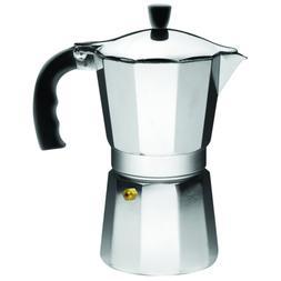 IMUSA USA B12043V Aluminum Espresso Stovetop Coffeemaker 6cu