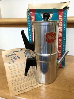 Vintage ILSA Espresso Coffee Maker Pot