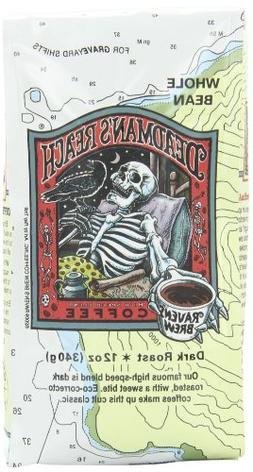 Raven's Brew Whole Bean Deadman's Reach,Dark Roast 12-Ounce