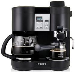 KRUPS XP1600 Coffee Maker and Espresso Machine Combination,