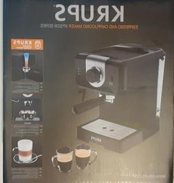 Krups XP3208 15 Bar Pump Espresso Cappuccino Coffee Maker 1.