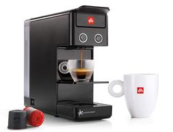 illy Y3.2 iperEspresso and Coffee Machine, Black